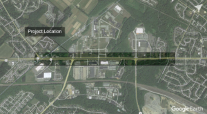 Elkton Road Improvements Project Location Map