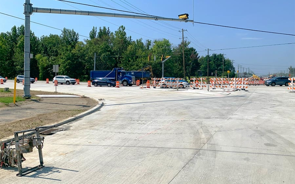 NB Elkton Rd and SR 4 Intersection